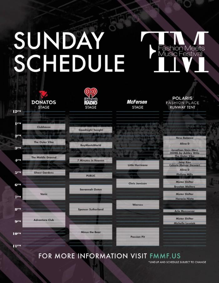 Sunday FMMF 2016