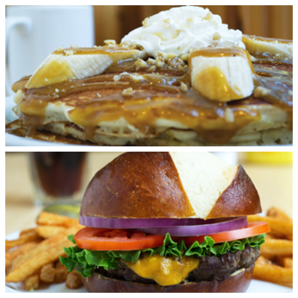 Sunny Street Cafe Bananas Foster Bistro Burger
