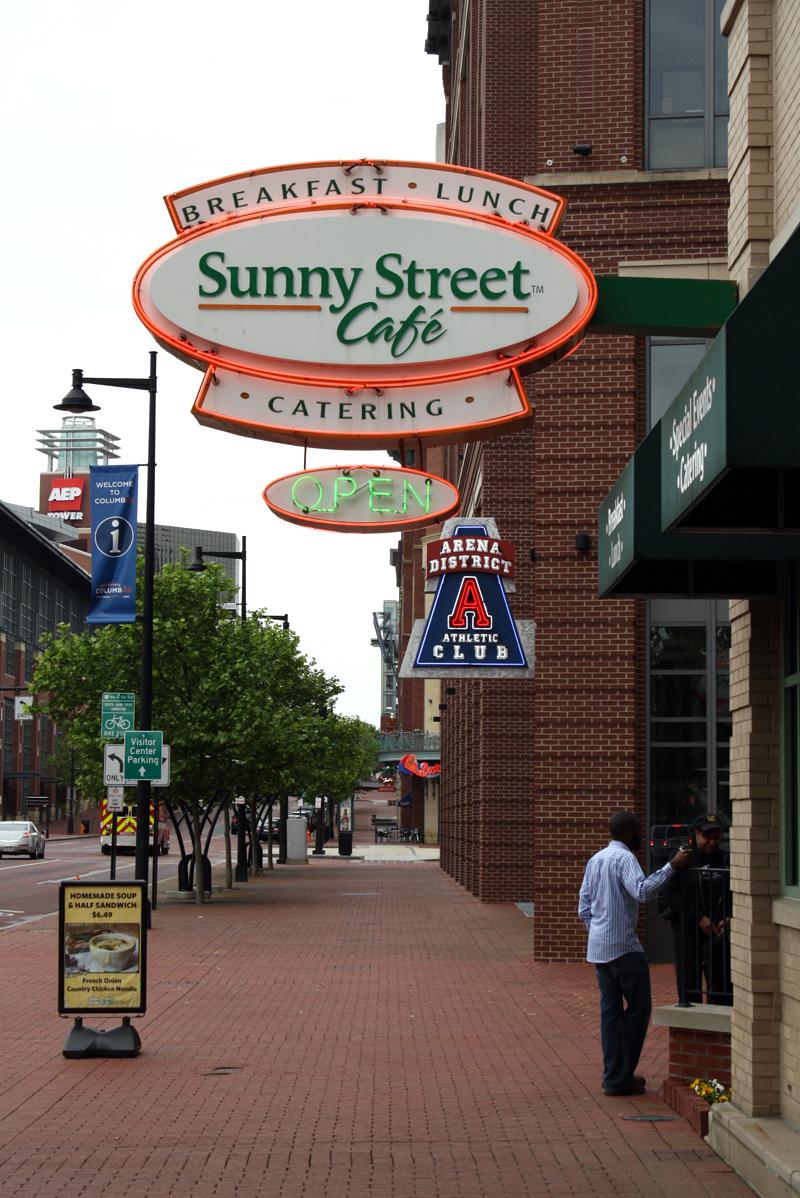 Sunny Street Cafe Menu Columbus Ohio
